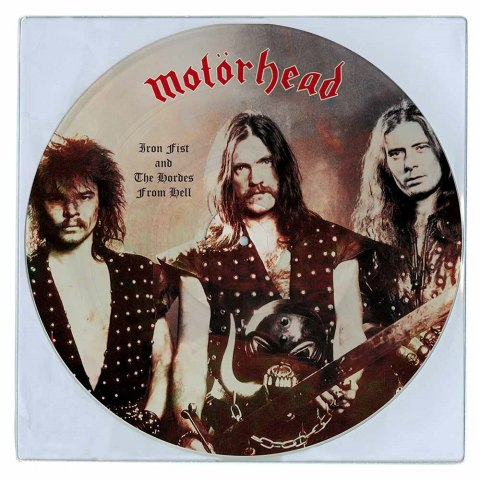 "MOTORHEAD -""IRON FIST AND THE HORDES FROM HELL"" 12"" PICTURE LP"