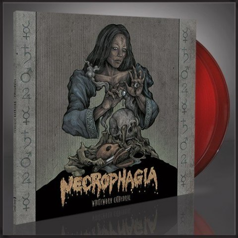 Necrophagia - WhiteWorm Cathedral - 2X12 LP GATEFOLD RED TRANSPARENT