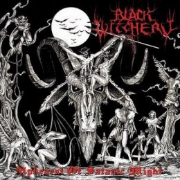 "BLACK WITCHERY ""Upheaval of Satanic Might"" 12"" GATEFOLD LP"