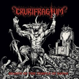 "CRURIFRAGIUM - "" Beasts of the Temple of Satan "" CD"