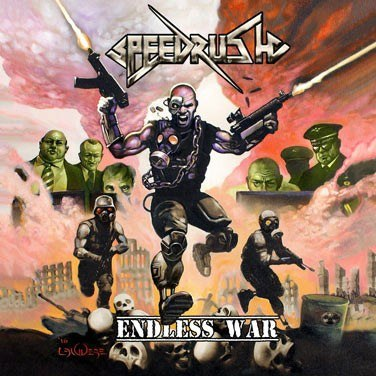 "SPEEDRUSH - "" ENLDLESS WAR "" LP (ORANGE)"