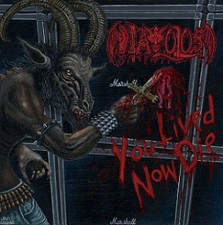 "DIAVOLOS -""You Lived, Now Die"" CD"