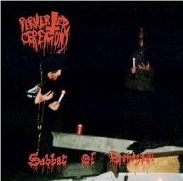 "PERVERTED CEREMONY ""Sabbat of Behezaël"" CD"