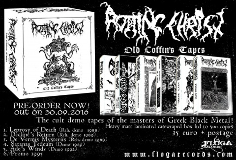ROTTING CHRIST - OLD COFFIN'S TAPES BOX SET