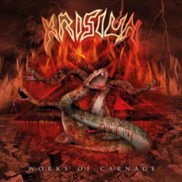 "KRISIUN – "" Works of Carnage "" LP"