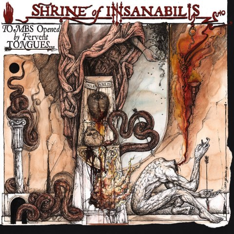 "SHRINE OF INSANABILIS -""Tombs opened by fervent tongues​.​.​."" 7''"