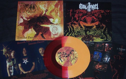 "SPAWN OF SATAN / EVIL ANGEL -""Split"" 7""EP"