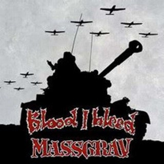 "BLOOD I BLEED / MASSGRAV-""Blood I Bleed/Massgrav"" SPLIT CD"