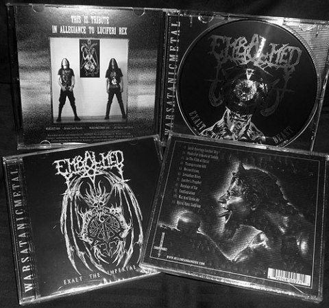 "EMBALMED -""Exalt The Imperial Beast"" CD"