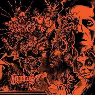 "CRYPTICUS / SCAREMAKER-""Split"" CD"