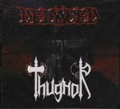 "DECAYED / THUGNOR-""Satanic Blast / At the Gates..."" SPLIT CD"