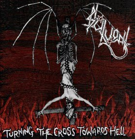 "SLUTVOMIT-""Turning the Cross Towards Hell"" 7"" EP"