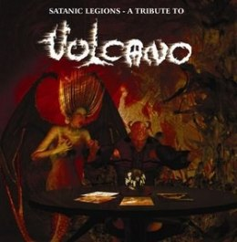 "V/A - ""Satanic Legions: A Tribute to Vulcano"" CD"