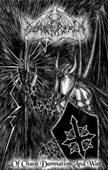 "DEMON REALM -""...of Chaos Damnation and War"" TAPE"