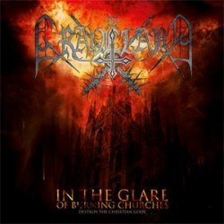 "GRAVELAND -""In The Glare of Burning Churches"" SLIPCASE CD"