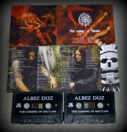"ALBEZ DUZ -""The coming Of Mictlan"" TAPE"
