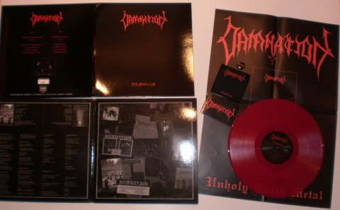"DAMNATION -""DEMO(n)S"" 12"" GATEFOLD LP DIE HARD"