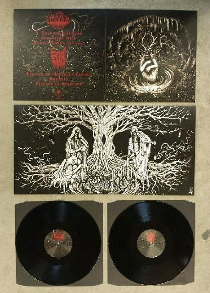 "GAROTTING DEEP/FOR -""Void Asceticism"" 12""GATEFOLD LP"