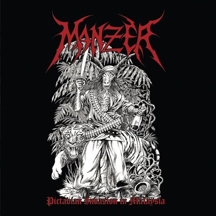 "MANZER - ""Pictavian Invasion in Malaysia"" CD"