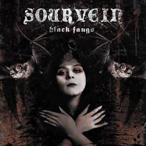 "SOURVEIN -""Black Fangs"" CD"
