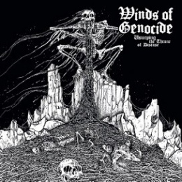 "WINDS OF GENOCIDE -""Usurping the Throne of Disease"" CD"