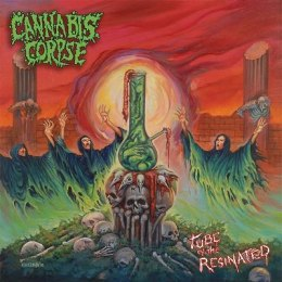 "CANNABIS CORPSE -""Tube of .."" CD"
