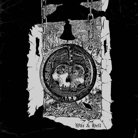 "KORGUL THE EXTERMINATOR / AKERBELTZ -""War & Hell"" 12"" LP"