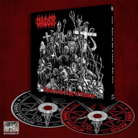 "VADER -""Before The Age Of Chaos - Live 2015"" DIGI PACK CD/DVD"