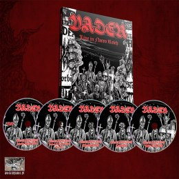 "VADER - ""Live in Necro Reich"" A5 DIGI FILE 4 CD + DVD"