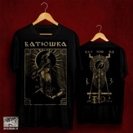 "BATUSHKA -""SHEMA MONK BLACK"" T-SHIRT"