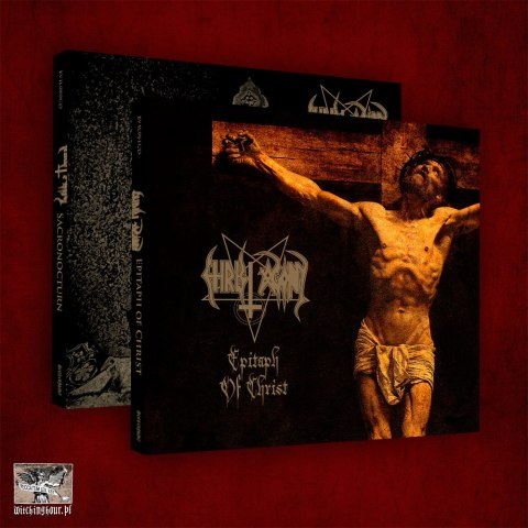 "CHRIST AGONY -""Sacronocturn & Epitaph of Christ"" DOUBLE PACK 2xDIGI PACK"