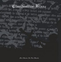 "CLANDESTINE BLAZE -""Fire Burns In Our Hearts"" 12"" LP"