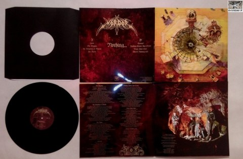 "MORDOR -""Nothing..."" 12"" GATEFOLD LP BLACK VINYL"