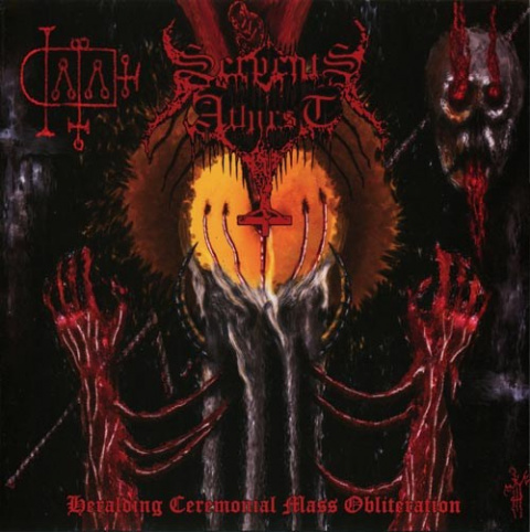 "SERPENTS ATHIRST -""Heralding Ceremonial Mass Obliteration"" 12"" LP"