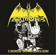 "ARMOUR -""Liquid Metal Decade"" CD"