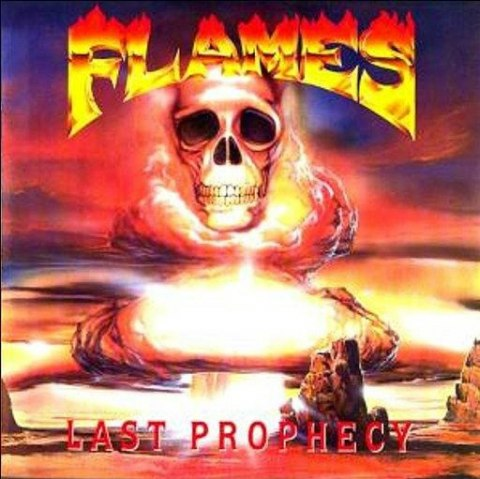 "FLAMES - "" LAST PROPHECY "" LP (YELLOW)"