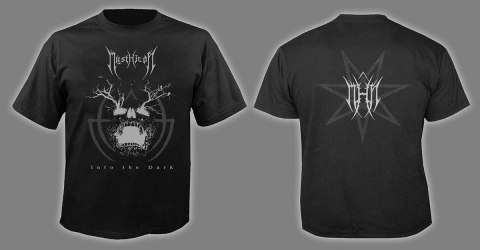 "MYSTHICON - ""Into The Dark"" T-SHIRT BLACK"