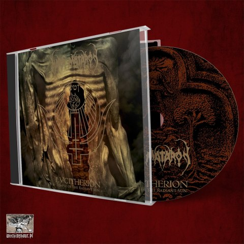 "NAER MATARON - ""LVCITHERION -Temple of the Radiant Sun"" CD"