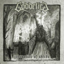 "GODDEFIED - "" INHUMATION OF SHREDS "" 2XLP (SILVER)"