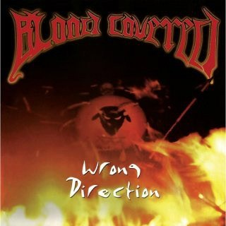 BLOOD COVERED - WRONG DIRECTION LP (YELLOW)