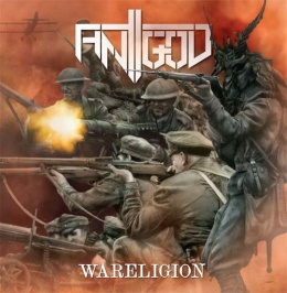"ANTIGOD –""Wareligion"" 12"" BLACK LP"