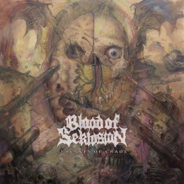 "BLOOD OF SEKLUSION -""Servants Of Chaos"" 12"" COLORED LP"