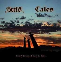 "CALES / SORTS - ""split 7"" A Tribute to Bathory"" 7"" BLACK EP"