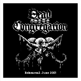 "DEAD CONGREGATION -""Rehearsal 2005"" 7"" BLACK EP"
