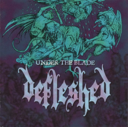 "DEFLESHED -""Under the Blade"" 12"" LP"