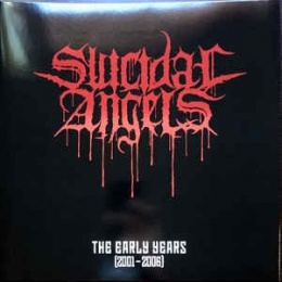 "SUICIDAL ANGELS -""THE EARLY YEARS"" 12"" GATEFOLD RED VINYL"