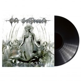 "GOD DETHRONED -""THE LAIR OF THE WHITE WORM"" 12"" BLACK"