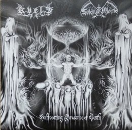 "KVELE / SOLEMNE MORTIS -""Suffocating Presence Of Death"" CD"