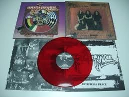 "EPIDEMIC -""ARTIFICIAL PEACE"" 12"" GATEFOLD RED VINYL"