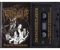 "NECROMUTILATOR -""RIPPING BLASPHEMY"" TAPE"